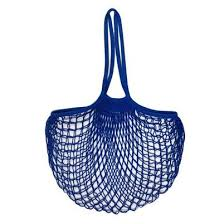 Filt Sac En Filet Bleu Matisse