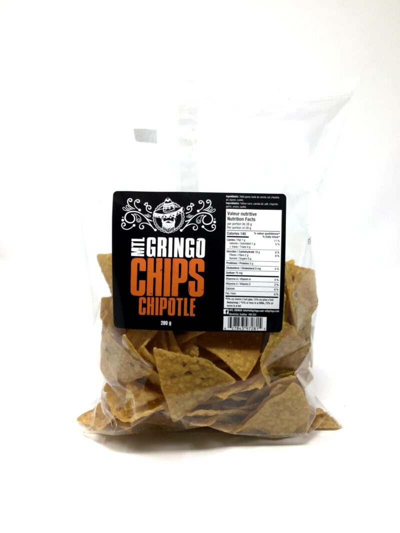 Mtl Gringo – Tortillas Chipotle