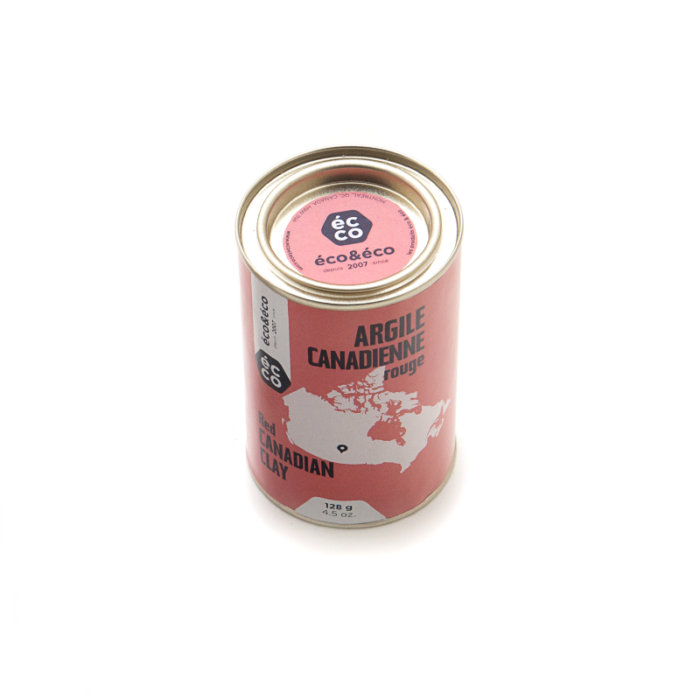 Argile Canadienne Rouge 128g