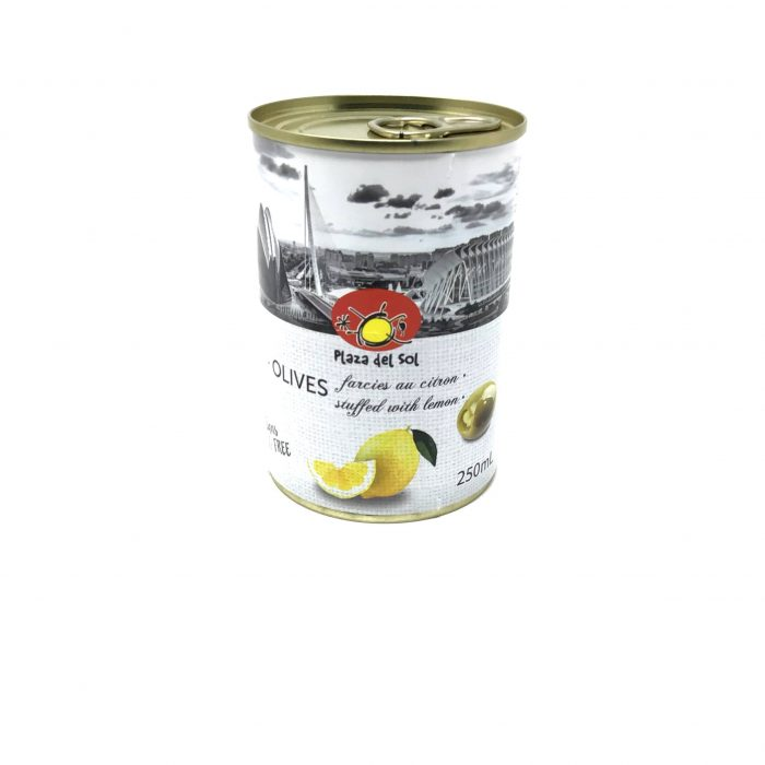 Plaza Del Sol – Olives au citron